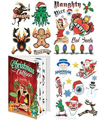 Merry-Christmas-Themed-Temporary-Tattoos-2017-4