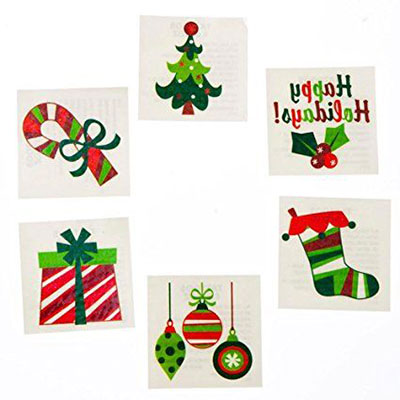 Merry-Christmas-Themed-Temporary-Tattoos-2017-8