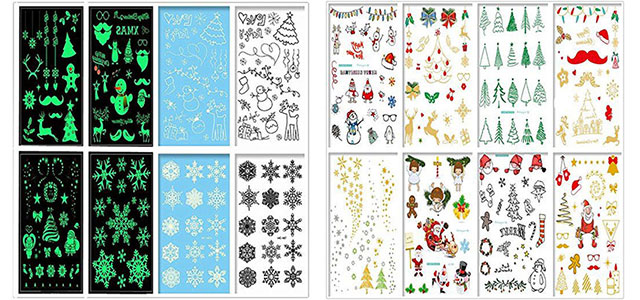 Merry-Christmas-Themed-Temporary-Tattoos-2017-f