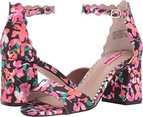 15-Floral-Heels-For-Girls-Women-2018-Spring Fashion-10