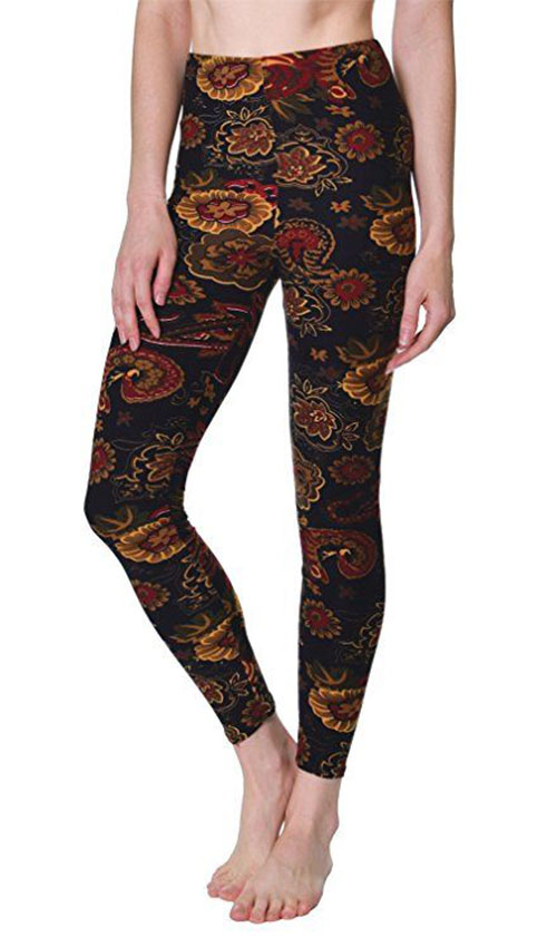 15-Floral-Print-Pants-Trousers-For-Girls-Women-2018-10