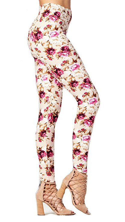 15-Floral-Print-Pants-Trousers-For-Girls-Women-2018-11