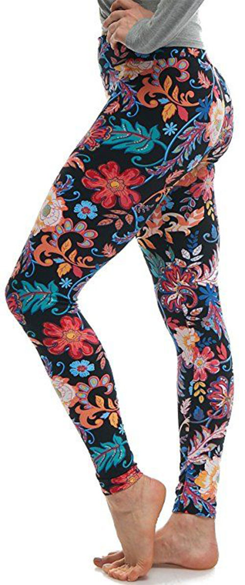 15-Floral-Print-Pants-Trousers-For-Girls-Women-2018-12