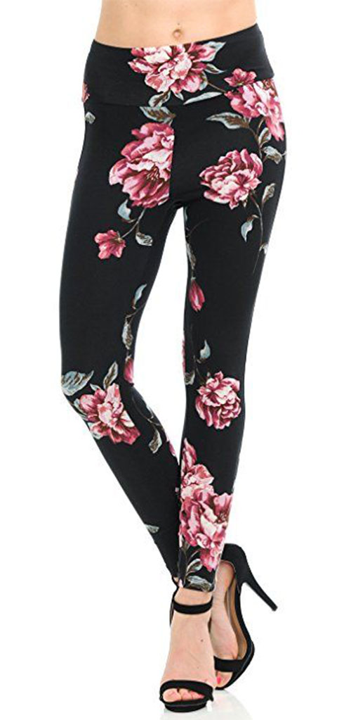 15-Floral-Print-Pants-Trousers-For-Girls-Women-2018-2