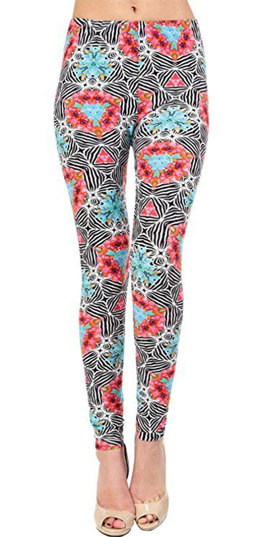 15-Floral-Print-Pants-Trousers-For-Girls-Women-2018-3
