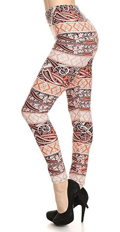 15-Floral-Print-Pants-Trousers-For-Girls-Women-2018-6