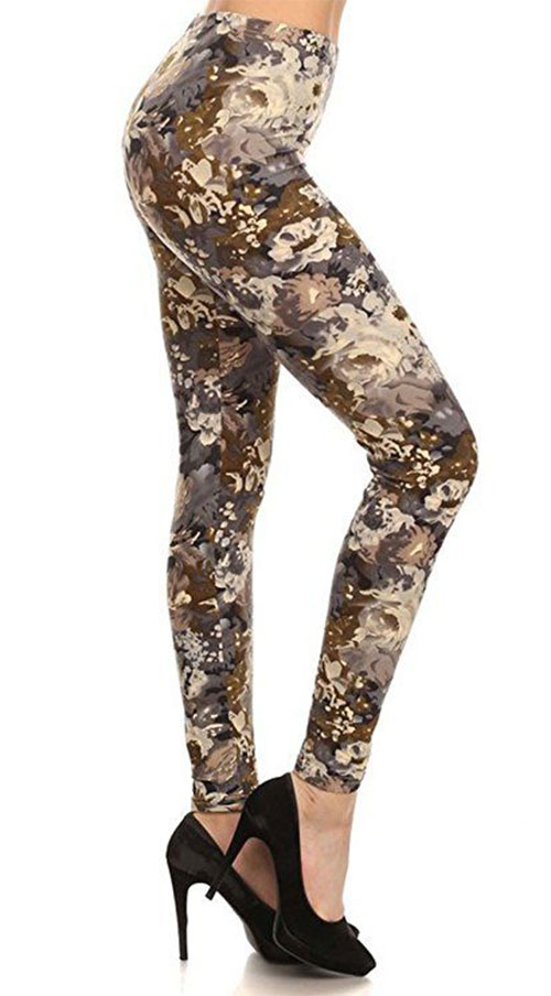 15-Floral-Print-Pants-Trousers-For-Girls-Women-2018-8
