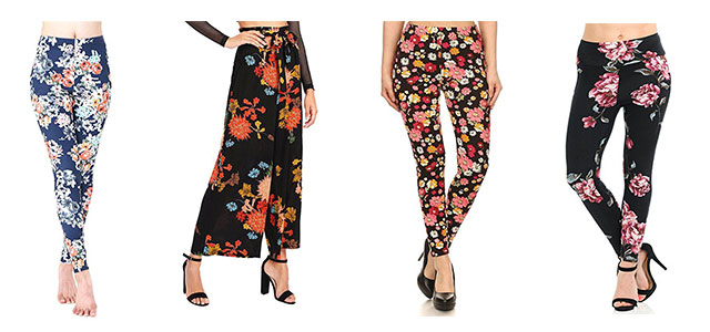 15-Floral-Print-Pants-Trousers-For-Girls-Women-2018-F