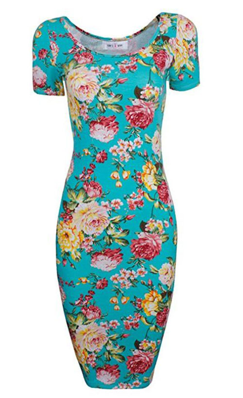 20-Best-Spring-Trendy-Dresses-Outfits-For-Ladies-2018-15