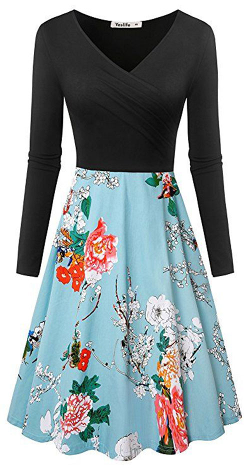 20-Best-Spring-Trendy-Dresses-Outfits-For-Ladies-2018-17