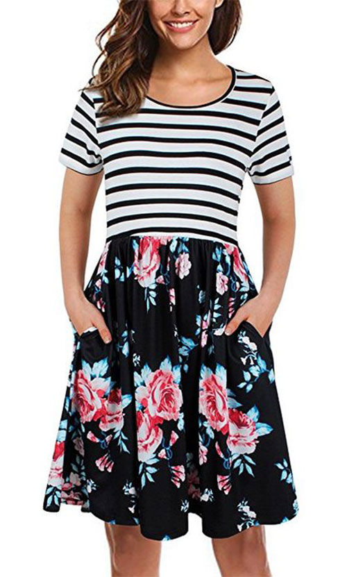 20-Best-Spring-Trendy-Dresses-Outfits-For-Ladies-2018-8