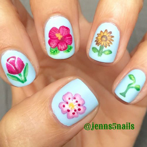 30-Floral-Nail-Art-Designs-Ideas-2018-Spring-Nails-1