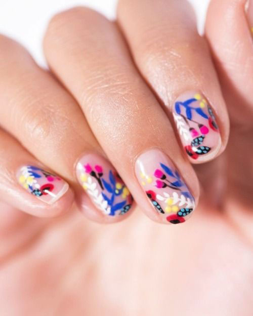 30-Floral-Nail-Art-Designs-Ideas-2018-Spring-Nails-11