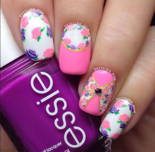 30-Floral-Nail-Art-Designs-Ideas-2018-Spring-Nails-18