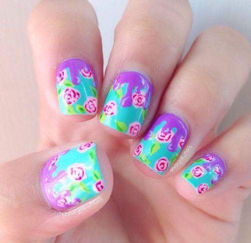 30-Floral-Nail-Art-Designs-Ideas-2018-Spring-Nails-2