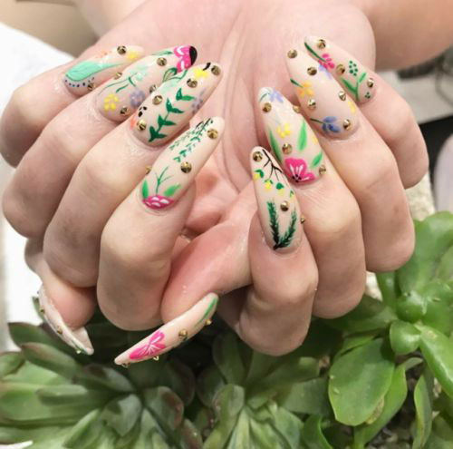 30-Floral-Nail-Art-Designs-Ideas-2018-Spring-Nails-20