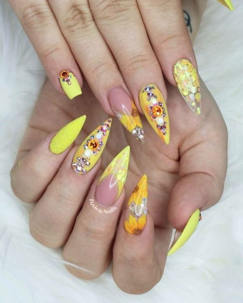 30-Floral-Nail-Art-Designs-Ideas-2018-Spring-Nails-21