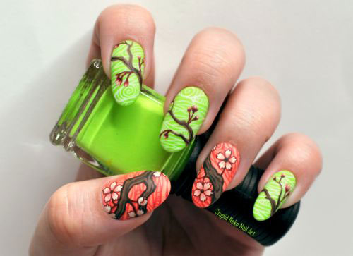30-Floral-Nail-Art-Designs-Ideas-2018-Spring-Nails-22