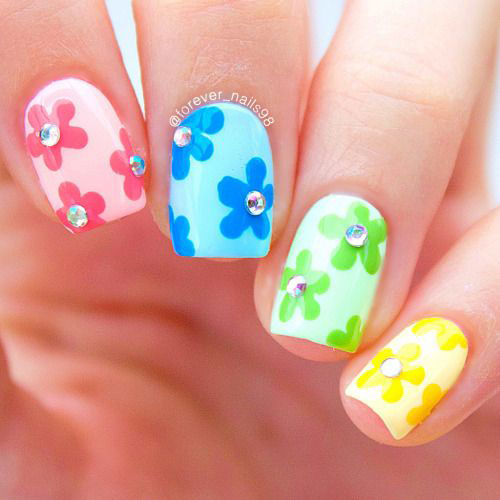 30-Floral-Nail-Art-Designs-Ideas-2018-Spring-Nails-27