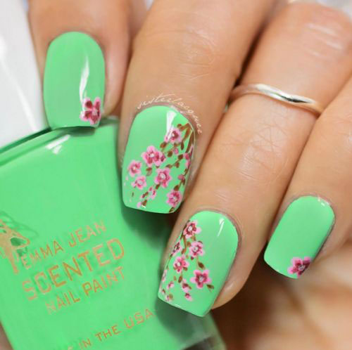 30-Floral-Nail-Art-Designs-Ideas-2018-Spring-Nails-32