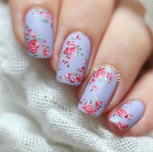 30-Floral-Nail-Art-Designs-Ideas-2018-Spring-Nails-5