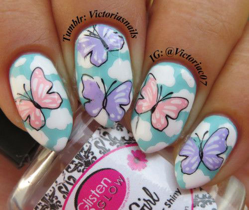 30-Floral-Nail-Art-Designs-Ideas-2018-Spring-Nails-6