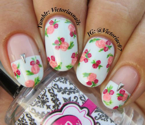 30-Floral-Nail-Art-Designs-Ideas-2018-Spring-Nails-7