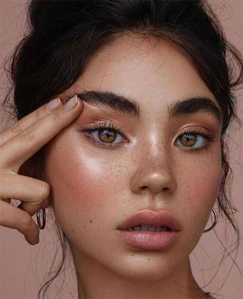 10-Natural-Summer-Makeup-Trends-Ideas-For-Girls-Women-2018-11