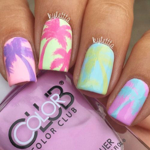 20-Best-Summer-Nails-Art-Designs-Ideas-2018-6