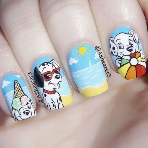 20-Best-Summer-Nails-Art-Designs-Ideas-2018-9