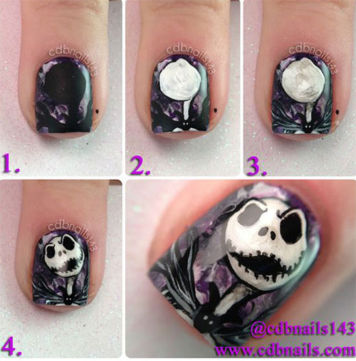 10-Awesome-Step-By-Step-Halloween-Nails-Art-Tutorials-For-Beginners-2018-10