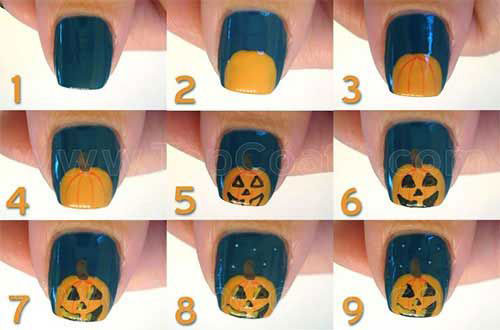 10-Awesome-Step-By-Step-Halloween-Nails-Art-Tutorials-For-Beginners-2018-12