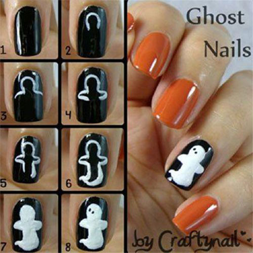 10-Awesome-Step-By-Step-Halloween-Nails-Art-Tutorials-For-Beginners-2018-9