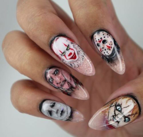 Halloween Nägel.30 Best Halloween Nails Art Designs Ideas 2018 Modern Fashion Blog
