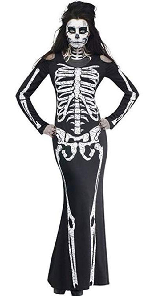 10-Skeleton-Halloween-Costumes-For-Kids-Girls-Women-2018-10