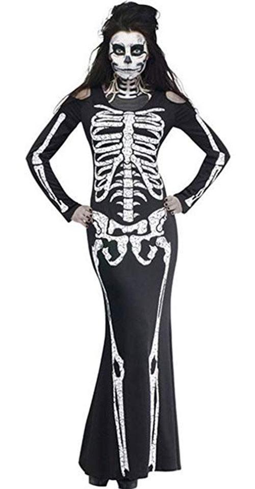 10-Skeleton-Halloween-Costumes-For-Kids-Girls-Women-2018-10