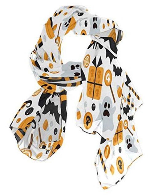 12-Halloween-Scarves-For-Girls-Women-2018-Scarf-Collection-1