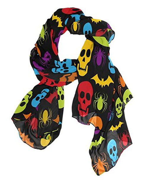 12-Halloween-Scarves-For-Girls-Women-2018-Scarf-Collection-9