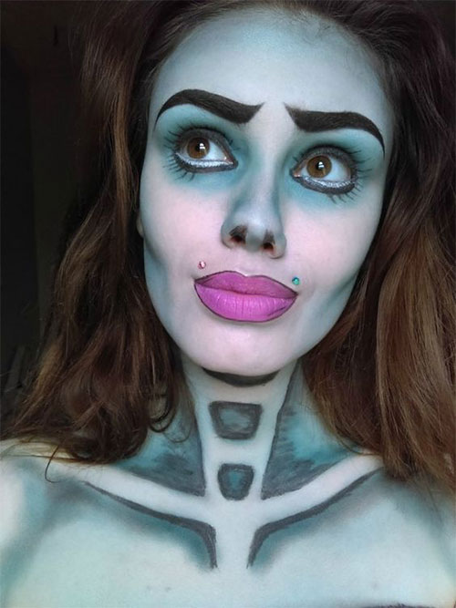 12-Scary-Halloween-Corpse-Bride-Makeup-Ideas-For-Girls-Women-2018-2