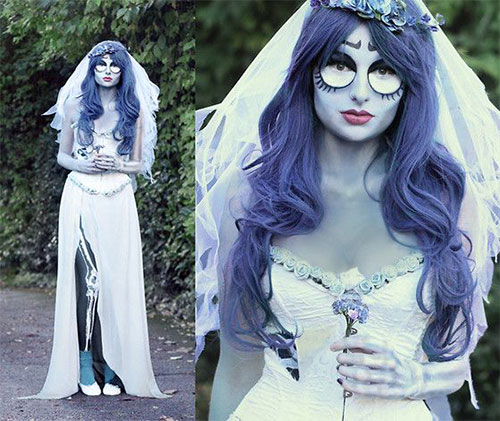 12-Scary-Halloween-Corpse-Bride-Makeup-Ideas-For-Girls-Women-2018-5