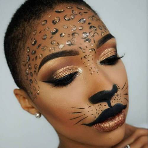 15-Halloween-Cat-Face-Makeup-Ideas-For-Girls-Women-2018-18
