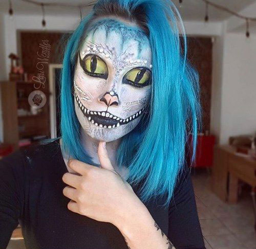 15-Halloween-Cat-Face-Makeup-Ideas-For-Girls-Women-2018-8