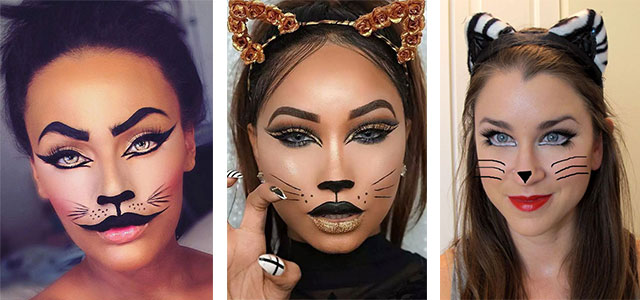 15-Halloween-Cat-Face-Makeup-Ideas-For-Girls-Women-2018-F