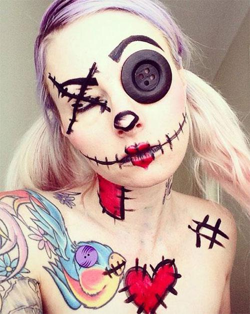 15-Halloween-Doll-Face-Makeup-Ideas-For-Girls-Women-2018-4