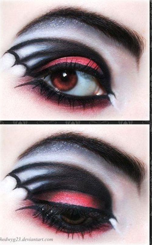 15-Halloween-Eye-Makeup-Ideas-Looks-For-Girls-Women-2018-15