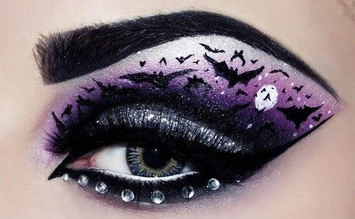 15-Halloween-Eye-Makeup-Ideas-Looks-For-Girls-Women-2018-3