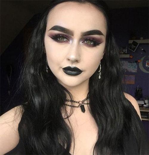 15-Halloween-Goth-Makeup-Ideas-For-Girls-Women-2018-9