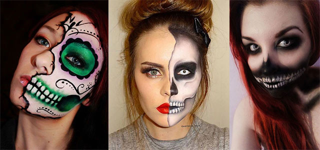 15-Scary-Halloween-Mouth-Teeth-Half-Face-Makeup-For-Girls-Women-2018-F