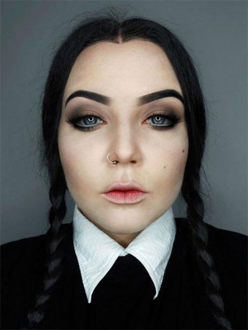 15-Simple-Easy-Halloween-Makeup-Ideas-For-Girls-Women-2018-11