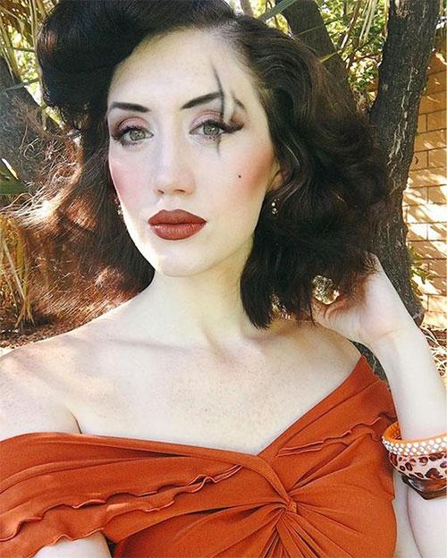 15-Simple-Easy-Halloween-Makeup-Ideas-For-Girls-Women-2018-14